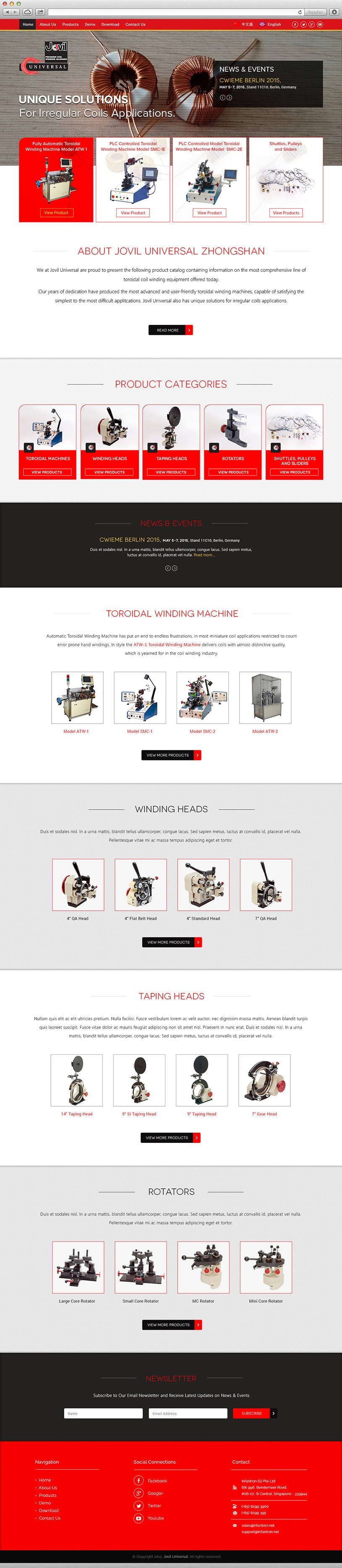 jovil_universal_website_design